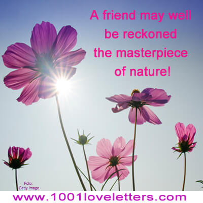 friendship - 1001 love letters